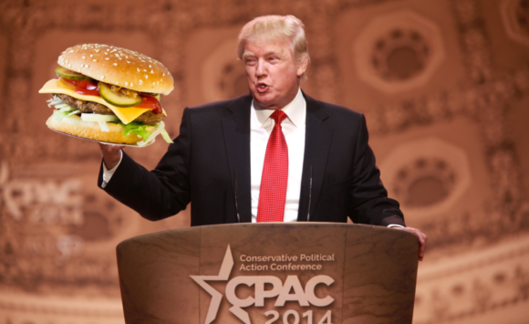 Trump Burger #FicheraVersion, alla Casa Bianca a tutto Food Rock