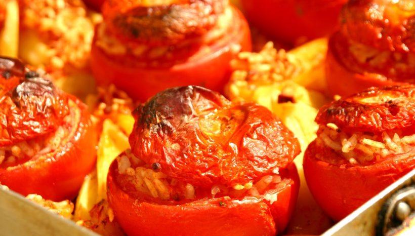 Pomodori con il Riso alla Romana #FicheraVersion