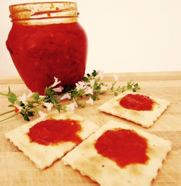 Chutney di pomodorini Datterini #FicheraVersion